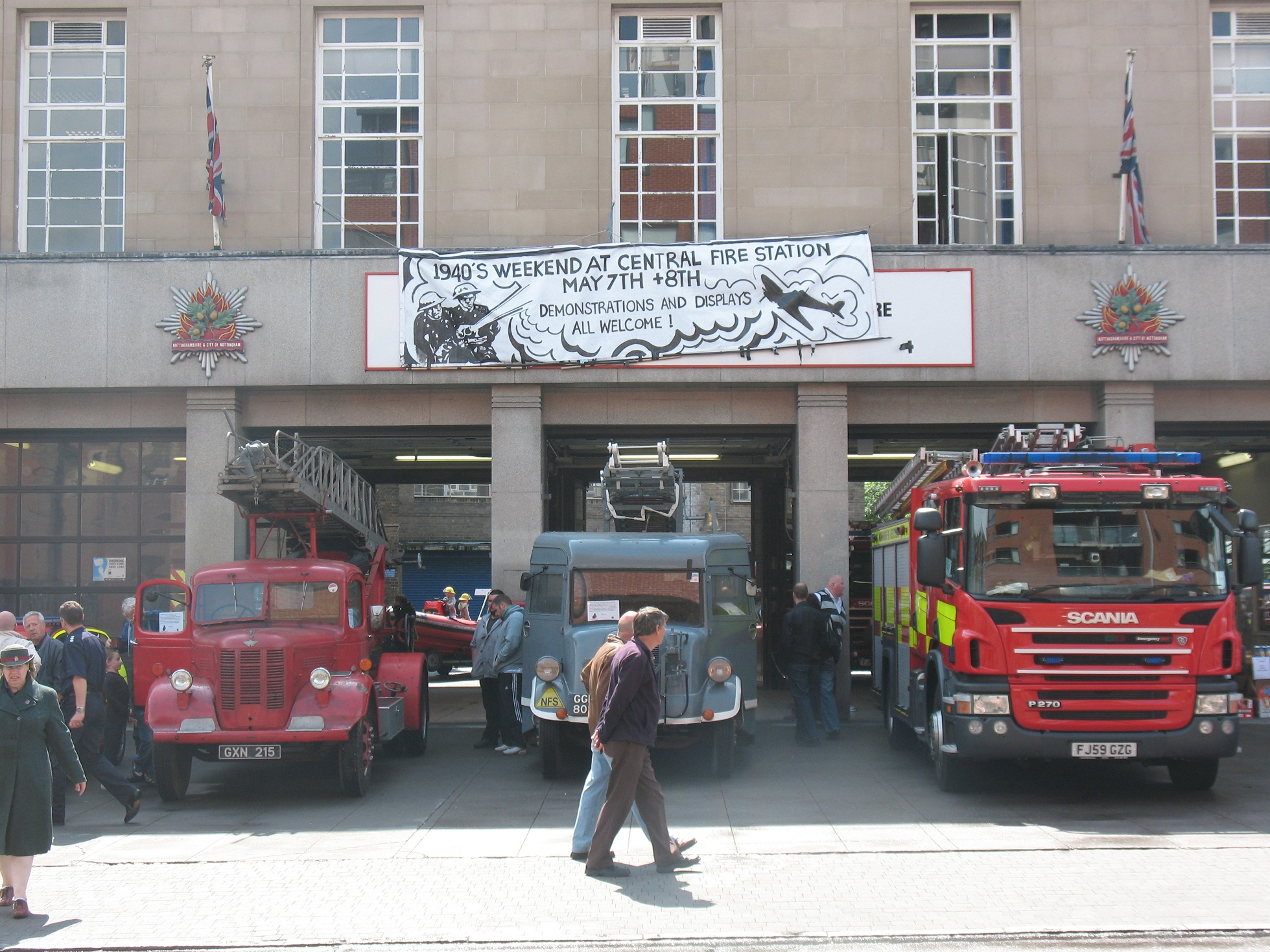 Nottingham Central Fire Station Open Weekend May 2011