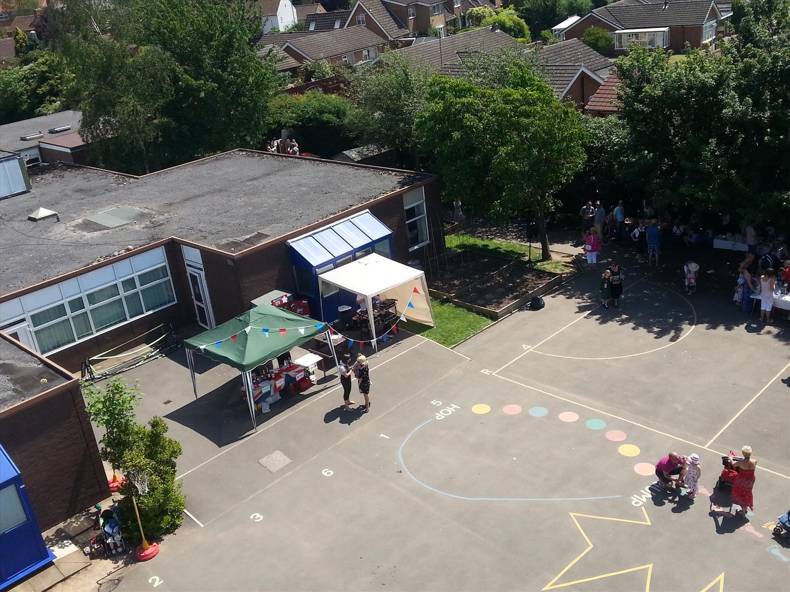 Lowdham Primary School from the TL